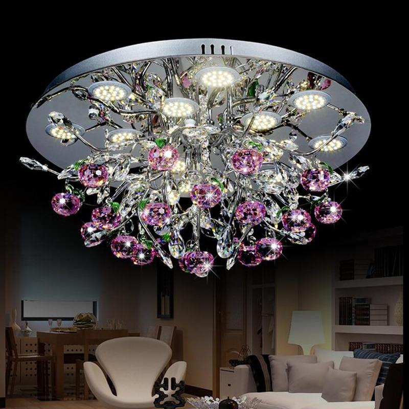 online shop nieuwe mooie crystal plafondlamp led plafond