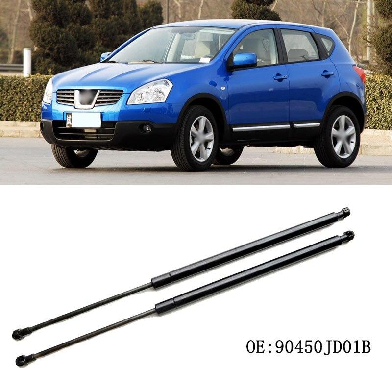 1 Juego de resortes de Gas para maletero trasero, soportes de elevación por resorte para Nissan Qashqai 2007