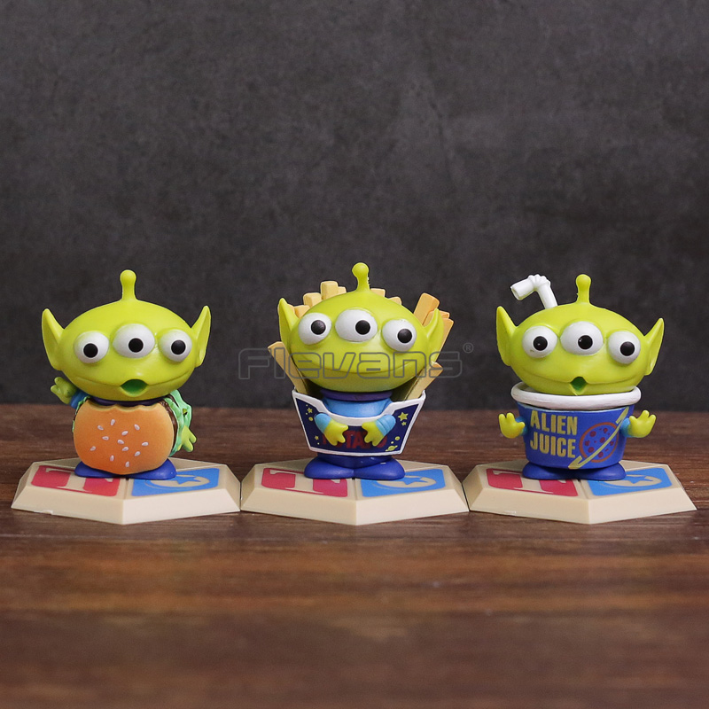 Toy Story Alien Mini PVC Figures Dolls Kids Childrens Gifts 5cm 3-pack