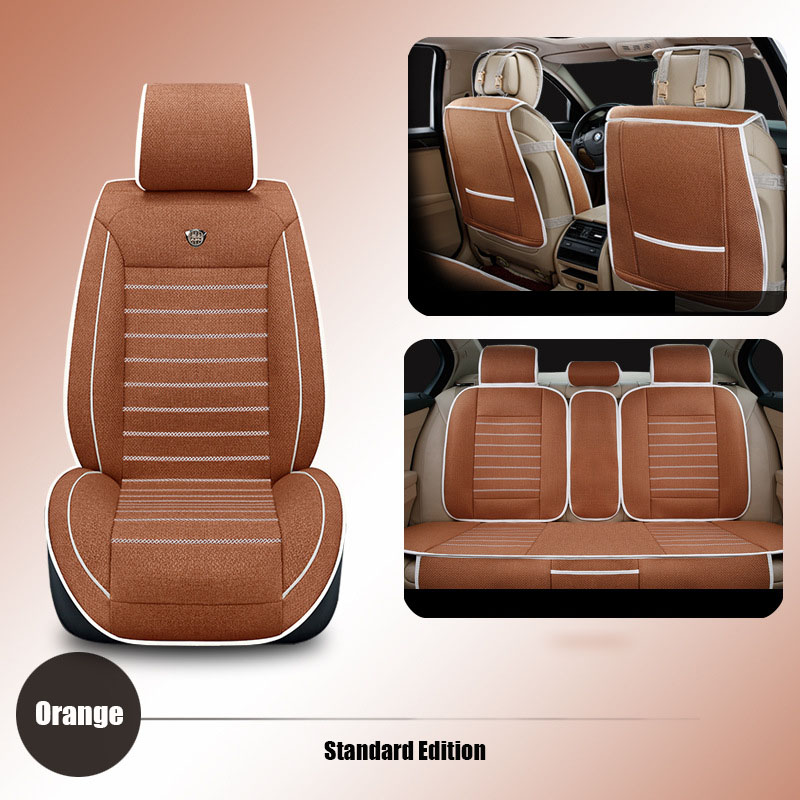 High quality linen Universal car seat cover For Benz A B C D S E Vito Viano Sprinter Maybach CLA CLK Sprinter car accessories universal pu leather car seat covers for toyota corolla camry rav4 auris prius yalis avensis suv auto accessories car sticks