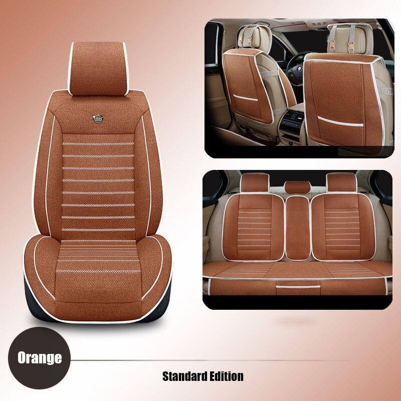 High quality linen Universal car seat cover For Benz A B C D S E Vito Viano Sprinter Maybach CLA CLK Sprinter car accessories городской рюкзак deuter giga 28 л черничный 80414 5032