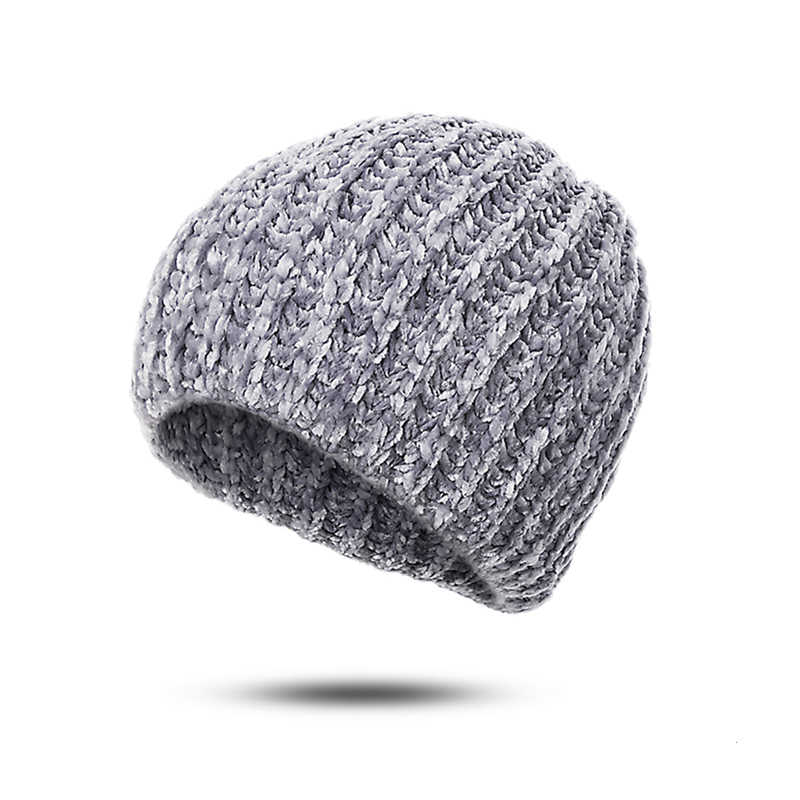 4a8d51bd8663b ... URDIAMOND Winter Hat Woman Man Fashion Knitted Casual Solid Color  Classic Wool Beanie Soft Warm caps ...