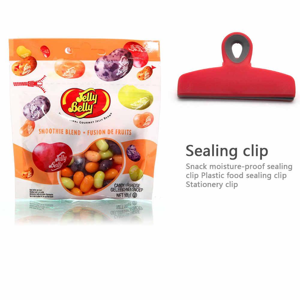 Food Snack Storage Seal Sealing Bag Clips Sealer Clamp Food Bag Clips Stationery Folder Household storage Food Close Clip