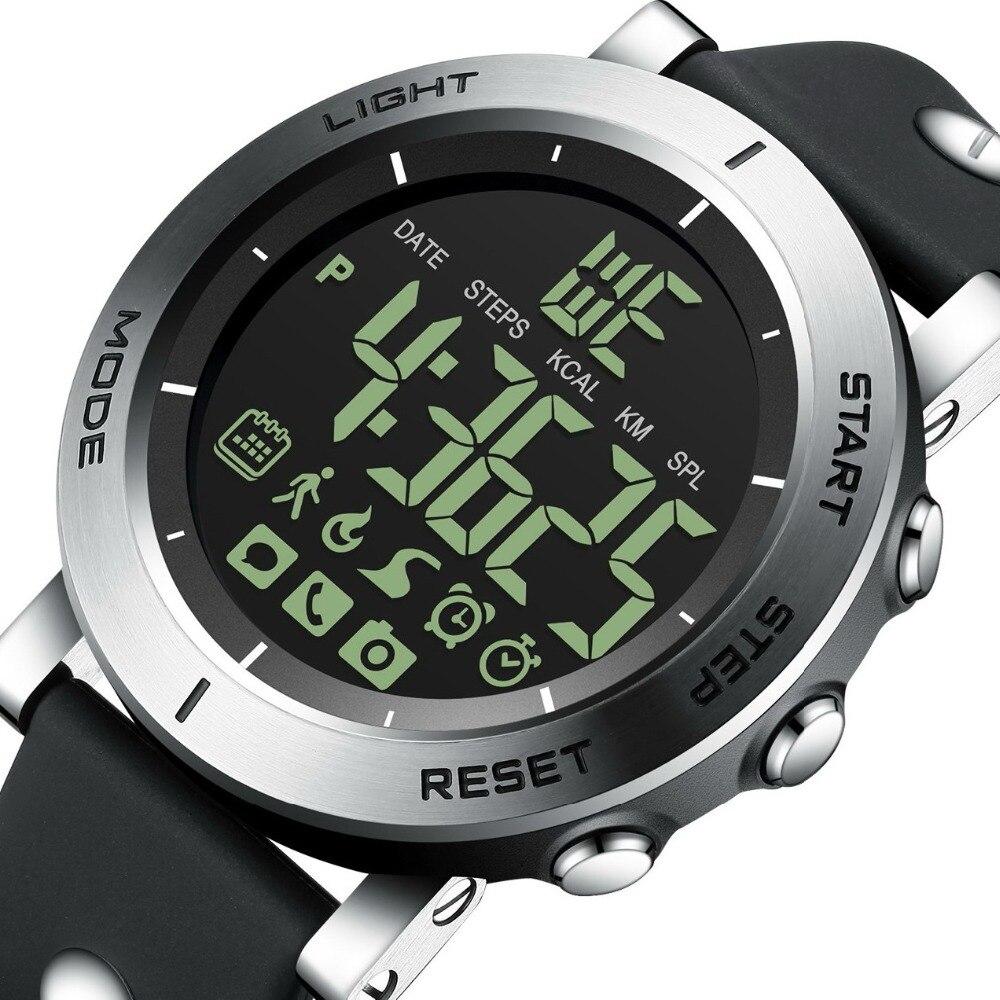 GIMTO Bluetooth Sport Smart Watch Men Shock Stopwatch Waterproof Military Digital Boy electronic wrist watches Pedometer Clock гуменная л н ребятам дошколятам медвежонок isbn 978 617 7292 86 8