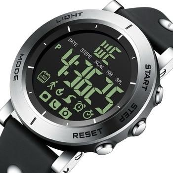 6c9e295b3ad2 GIMTO deportivos Bluetooth reloj inteligente hombres Shock cronómetro  militar impermeable Digital chico electrónica relojes de pulsera podómetro  reloj