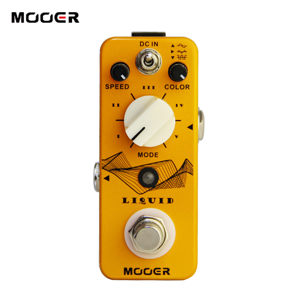 Здесь продается  MOOER Liquid Digital Phaser Guitar Pedal with 5 Different Phase Effect Types  Спорт и развлечения