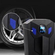 12V car tire air compressor emergency digital display pump intelligent preset pressure auto parts XC-50