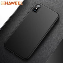 HAWEEL PP Ultra-slim Matte Protective Back Cover Case for iPhone X / XS/ XR / XS Max Protective Cover Shell Guard Case цена и фото