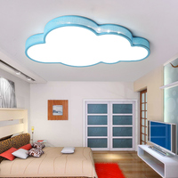 New ceiling light LED bulb white color remote control cloud type bedroom living room lamp Luminaria Teto