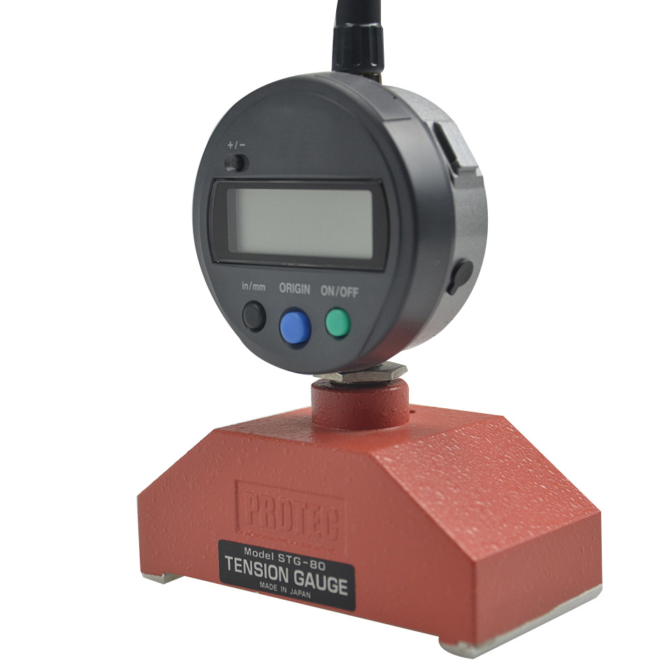 Japan STG-80D steel mesh tension meter PROTEC screen tension meter stg-80d tension measuring instrument