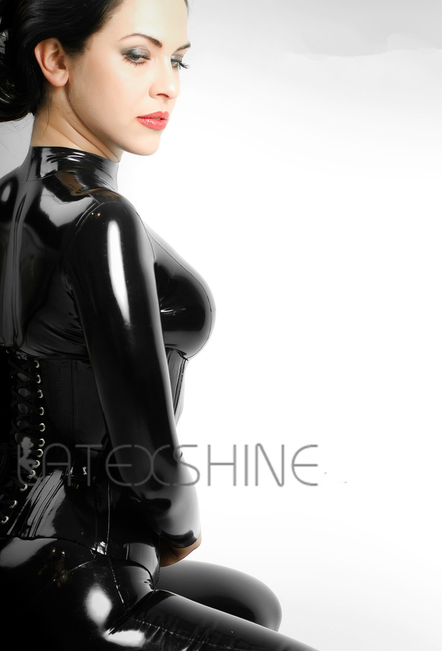 Black-Latex-Catsuit-Women-Full-Bodysuit-Leotard-Latex-Clothing-with-Black-Latex-Corset-1