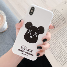 цена на Soft TPU Case For iPhone X XR XS Xs Max 7 Plus 8 Plus Cases Silicone Cover For iPhone 7 6 Plus 6s Plus Case Dirt-resistant Cover