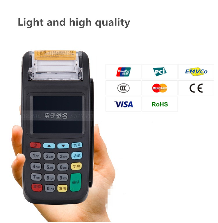 US $187 31 19% OFF|Handheld Portable POS Terminal 8210 for Online or  Offline Payment with NFC Reader-in Scanners from Computer & Office on