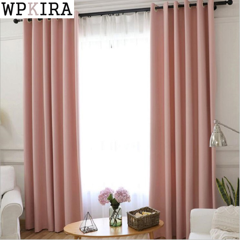 Blackout Curtains for the Bedroom Solid Colors Curtains for the Living Room Window Greey Gold Curtains Blinds Customized 285&30 tulle curtains 3d printed kitchen decorations window treatments american living room divider sheer voile curtain single panel