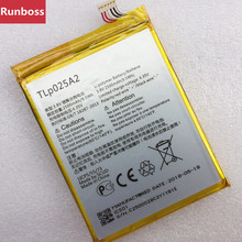 2500mAh TLp025A2 Battery For Alcatel One Battery Touch idol X+ 6043D Scribe HD OT-8008D TCL S960 Y710 Y900 Batteries стоимость