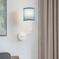 Nordic personalidade criativa retro iluminação CONDUZIU a lâmpada de parede da cabeça dos cervos para escadas sala de estar quarto lâmpada de cabeceira lâmpada de leitura