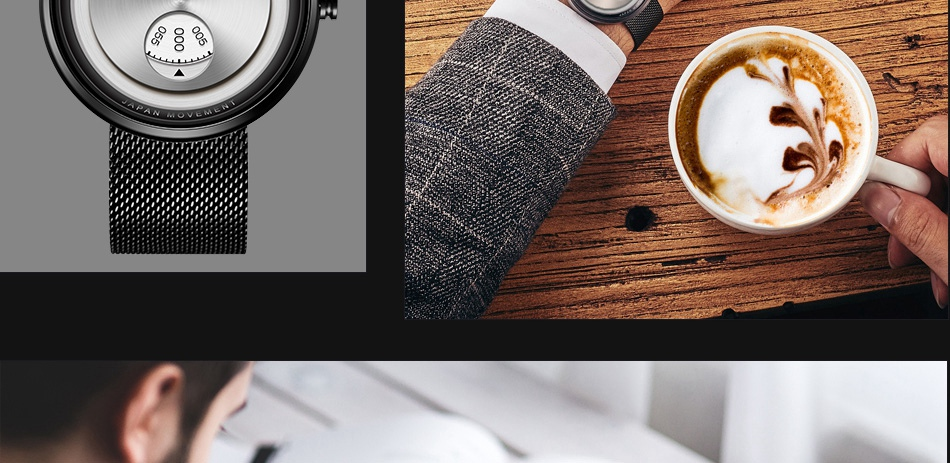 TRANSISTOR designer wristwatch