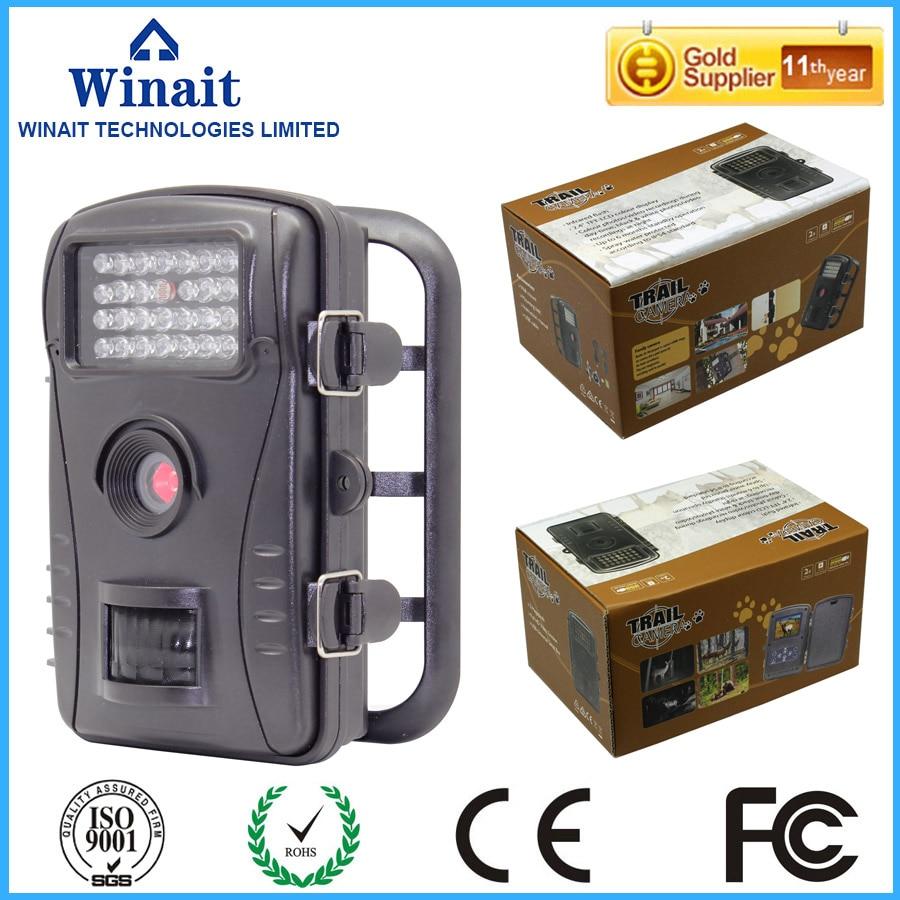 ФОТО  Scouting hunting camera  HD  Digital 940NM Infrared Trail digital Camera  2.4' LCD Hunter Cam Free Shipping