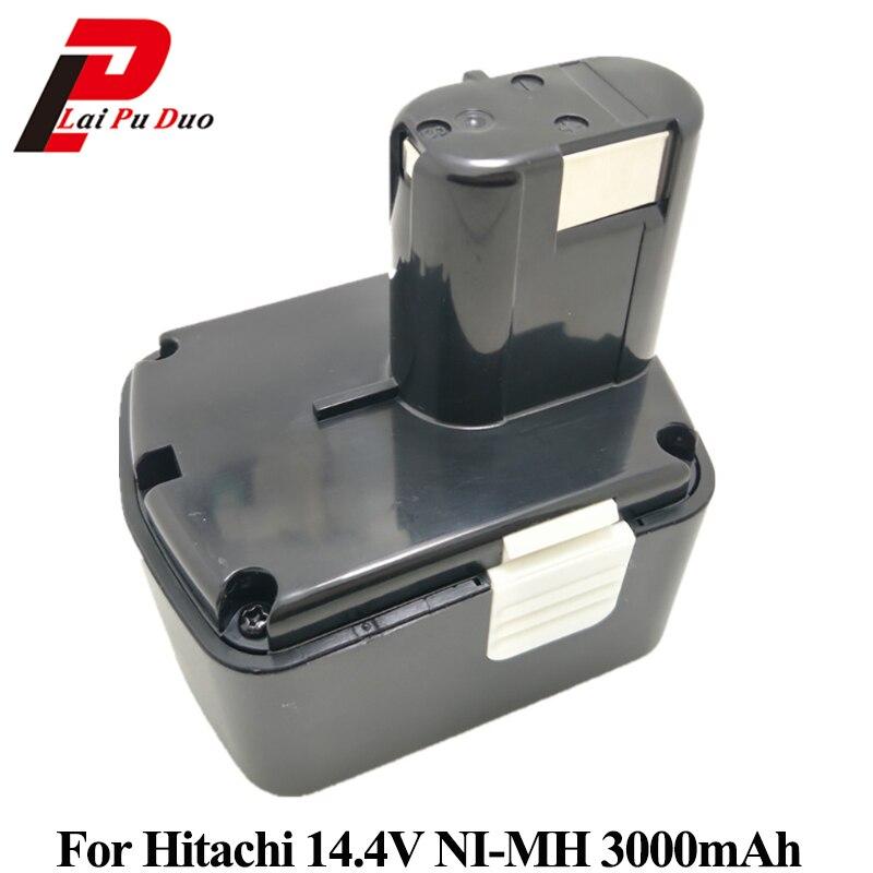3.0Ah 14.4 V NI-MH 3000 mah batterie de remplacement pour batterie Hitachi EB1414S EB1420 EB14263.0Ah 14.4 V NI-MH 3000 mah batterie de remplacement pour batterie Hitachi EB1414S EB1420 EB1426