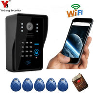 DHL Freeshipping New Arrival Apartment Wifi Video Door Phone Wireless Intercom Wifi Doorbell Support Motion Detect