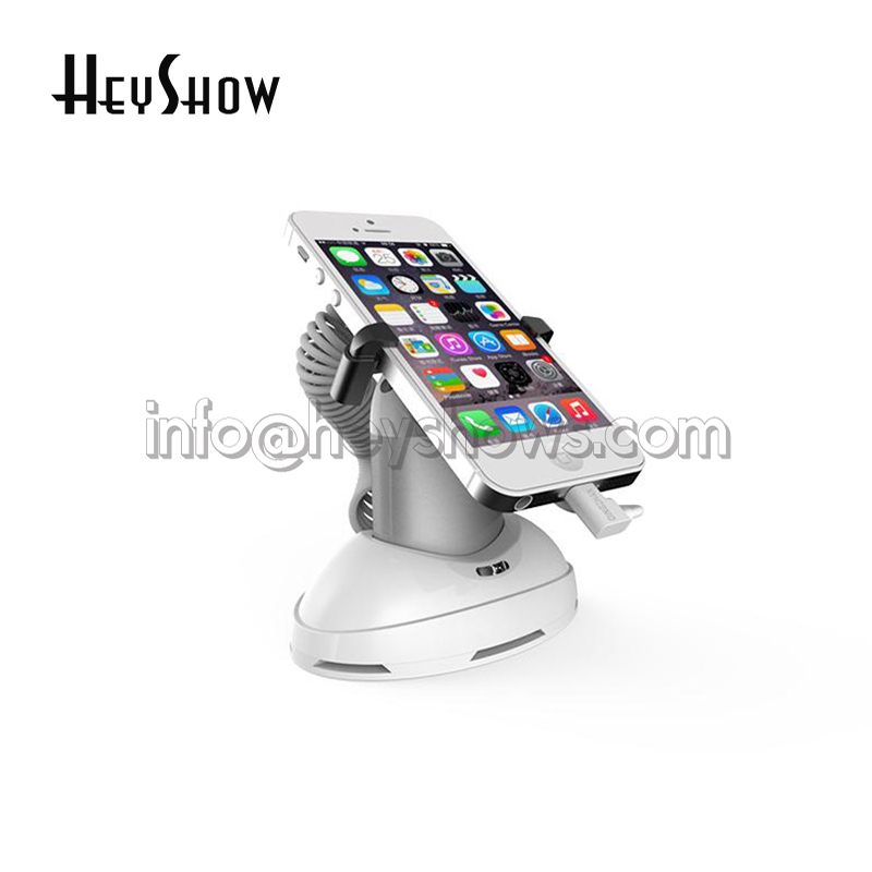 10x Mobile Phone Security Display Stand Tablet Burglar Alarm iphone Anti Theft Alarm System For Retail Samsung Store Wholesale