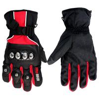 Motorcycle Gloves Winter Warm Windproof Protective 100 Waterproof Guantes Motorcycle Gloves Outdoor Sports Full Finger Knight