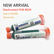 Freeship MECHANIC 10ML GREEN UV SOLDER MASK PCB BGA PAINT PREVENT CORROSIVE ARCING Soldering Paste Flux Cream Welding Fluxes Oil