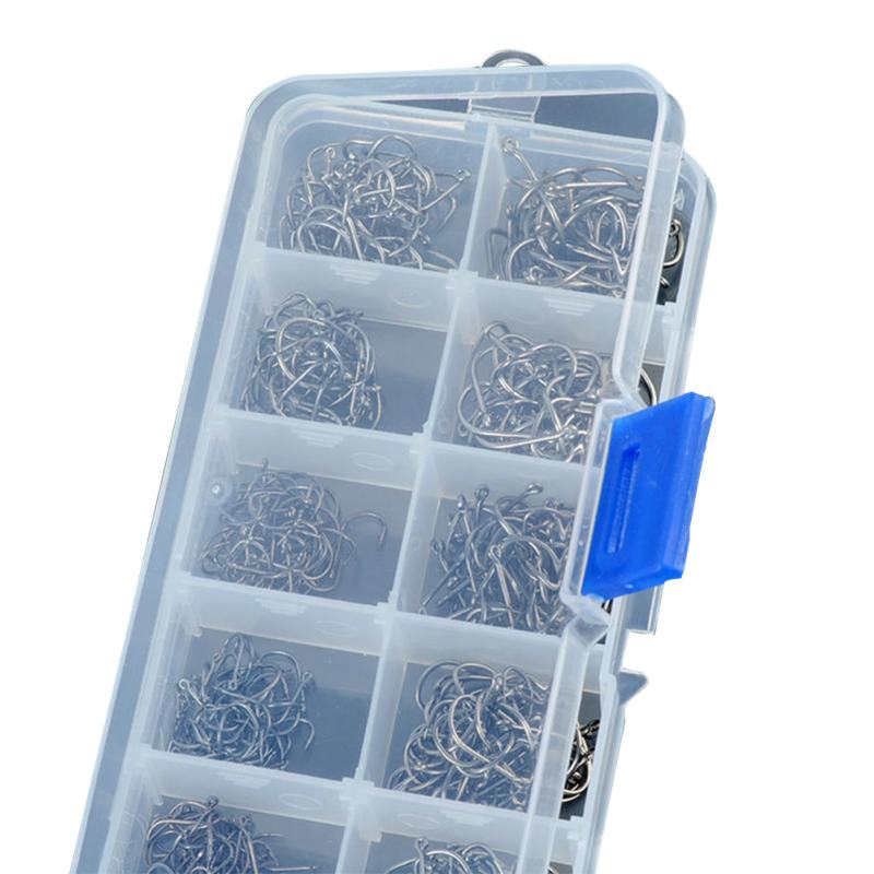 Ψάρεμα Tackle Box 500 τεμάχια / παρτίδα 3 # -12 # - Αλιεία - Φωτογραφία 6