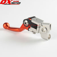 4 Direct CNC Pivot Foldable Clutch Lever For EXC EXCF EXCR XC XCF XCW XCFW SX SXF SMR SXR SIX DAYS Motocross Dirt Bike