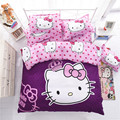 Bedding Set 4pcs include Duvet Cover Bed Sheet Pillowcase Children Kids Comforter Bedding Sets housse de couette