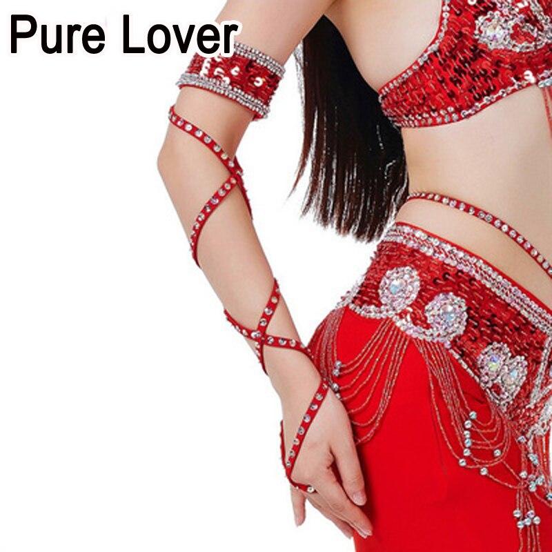 10 piezas / ot accesorios para disfraces de danza del vientre - Ropa de danza y vestuario escénico - foto 6
