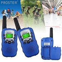 הדרך רדיו uhf תדירות 446MHz UHF רדיו לילדים Talkie Walkie מיני ילדים 2pcs Proster Portable שני הדרך רדיו מתנה שני הדרך רדיו Comunicador (1)