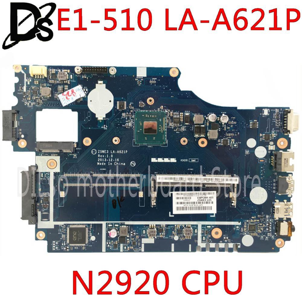 For ACER E1-510P NBC3A11001 Intel motherboard Z5WE3 LA-A621P DDR3  B.C3A11.001