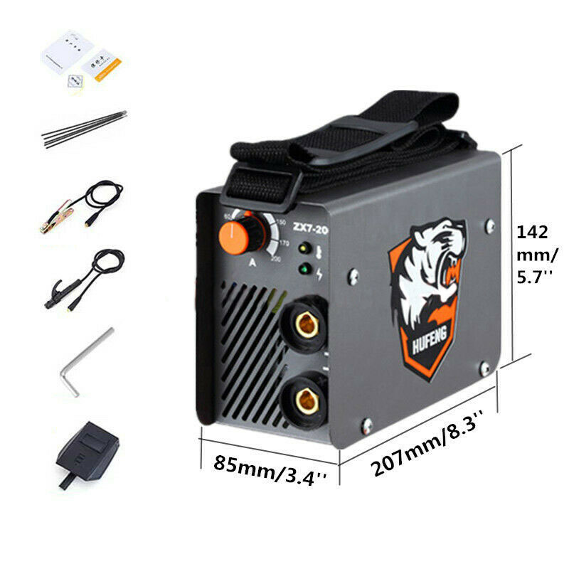 ZX7 200 10 200A 4000W Mini MMA Electric Welder 220V 200A Inverter Arc IGBT Welding Machine tool-in Arc Welders from Tools    1