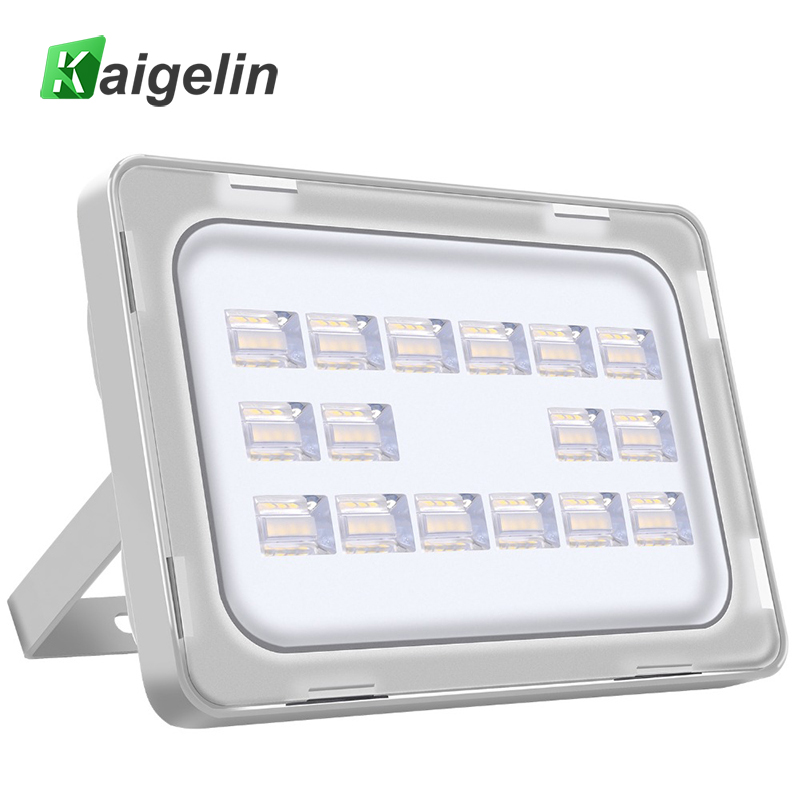 Kaigelin 50W LED Flood Light 220-240V 6000LM 64 LED IP67 Waterproof Floodlight LED Spotlight Outdoor Wall Lamp Garden Lighting