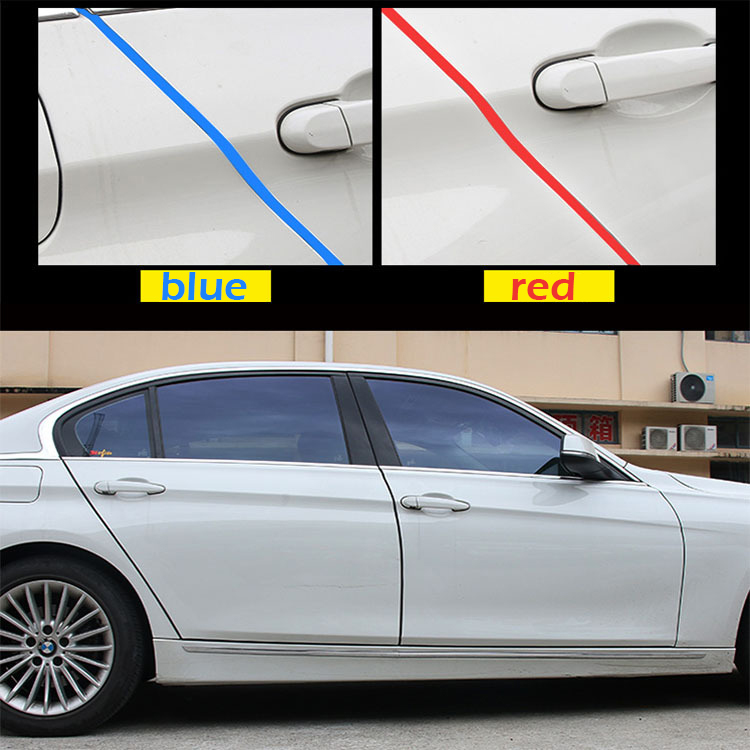 Image 3 - 5M/10M Car Door trips Rubber Edge Protective Strips Side Doors Moldings Adhesive Scratch Protector Vehicle For Cars Auto-in Styling Mouldings from Automobiles & Motorcycles