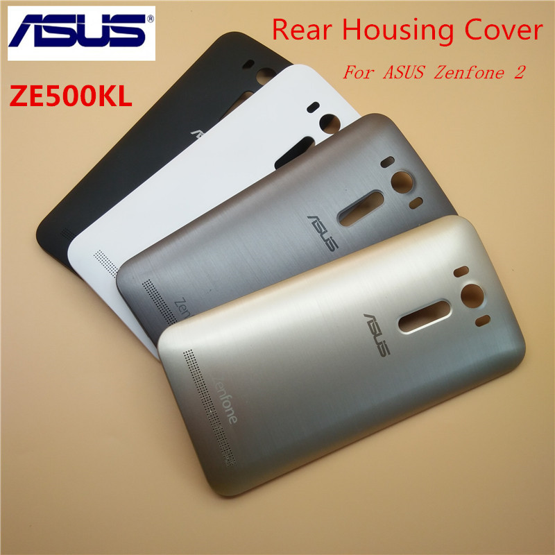 Original ASUS Zenfone 2 Laser ZE500KL Replacement Back Door Battery Case Rear Housing Cover,5.0 Inch(China)