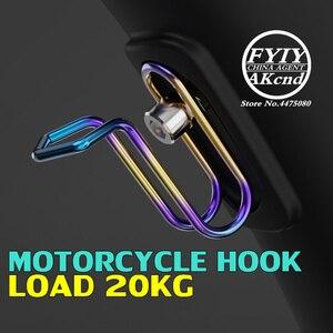 Image 1 - バイクオートバイフックハンガーヘルメットガジェットグローブイーグル爪フックアクセサリー Gy6 Scootes フックヘルメットフックヤマハ aerox
