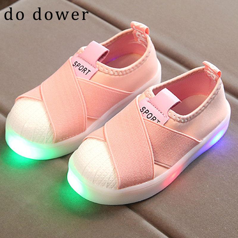 0477e786193 Παιδικά παπούτσια Φωτεινό μωρό Μωρό παιδί Κορίτσια Παπούτσια Φωτιά ...