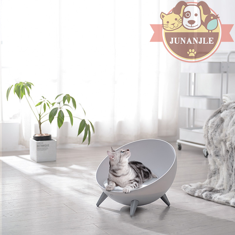 Hemisphere style Doghouse Dog Bed Suitable for Small and Medium sized Dogs Pet Supplies Half open Household Cat and Dog Pet Bed