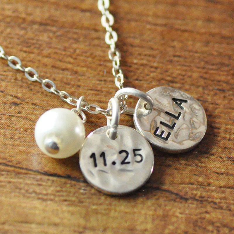 best to love the family i necklace personal back charm product new you moon gift friendship friend