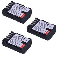 3x DMW-BLF19 DMW-BLF19E DMW-BLF19PP BLF19 BLF19E BLF19PP Battery for Panasonic Lumix GH3 GH4 GH5 DMC-GH3 DMC-GH4 DMC-GH5 Cameras