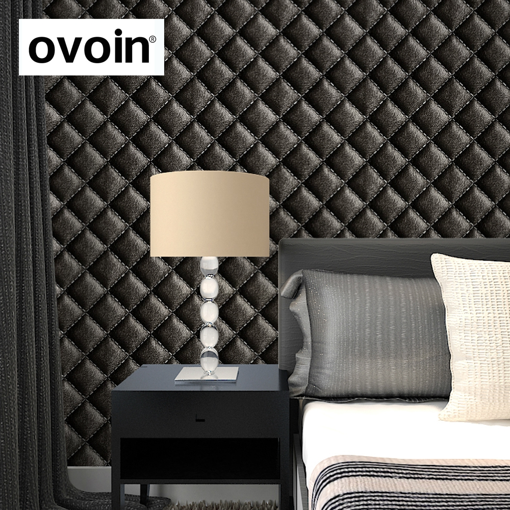 Euopean Style Faux Leather Wallpaper Wall Paper Roll