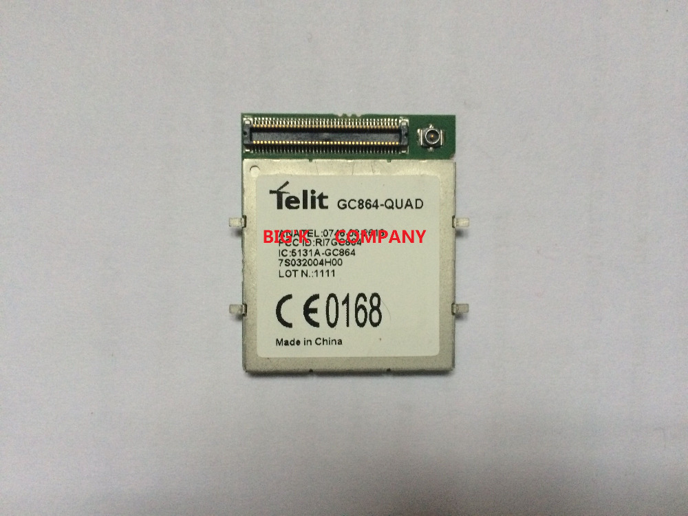 GC864-QUAD Telit 2G 100% New Genuine Distributor In the stock GSM GPRS Embedded quad-band module 1PCS Free Shipping