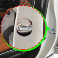 4 unids/set Puerta hebilla de la cerradura Protector de La Cubierta Para Kia K3 K5 FORTE SORENTO Carens Borrego VQ CADENZA SHUMA/Hyundai SantaFe/H-1/iX45