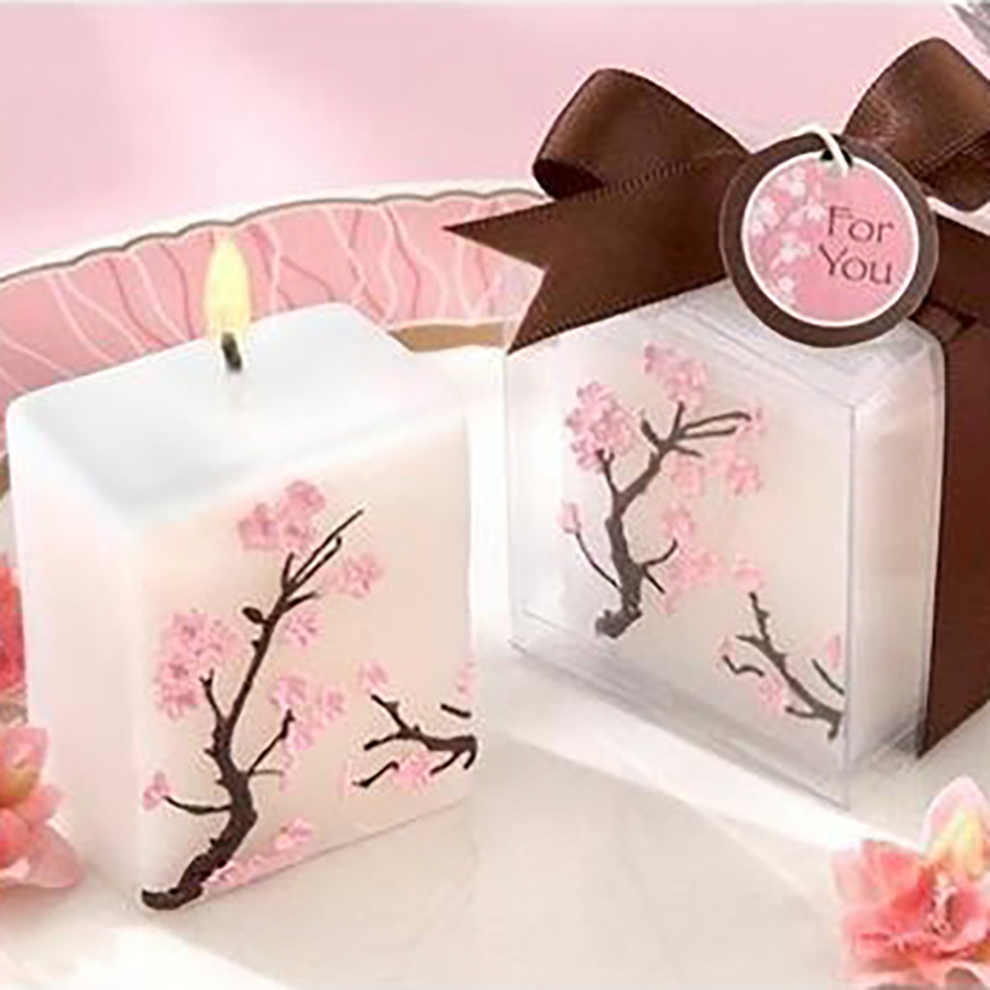 Romantic Wedding Decoration Candles Craft Bougies D Coratives Wax ...