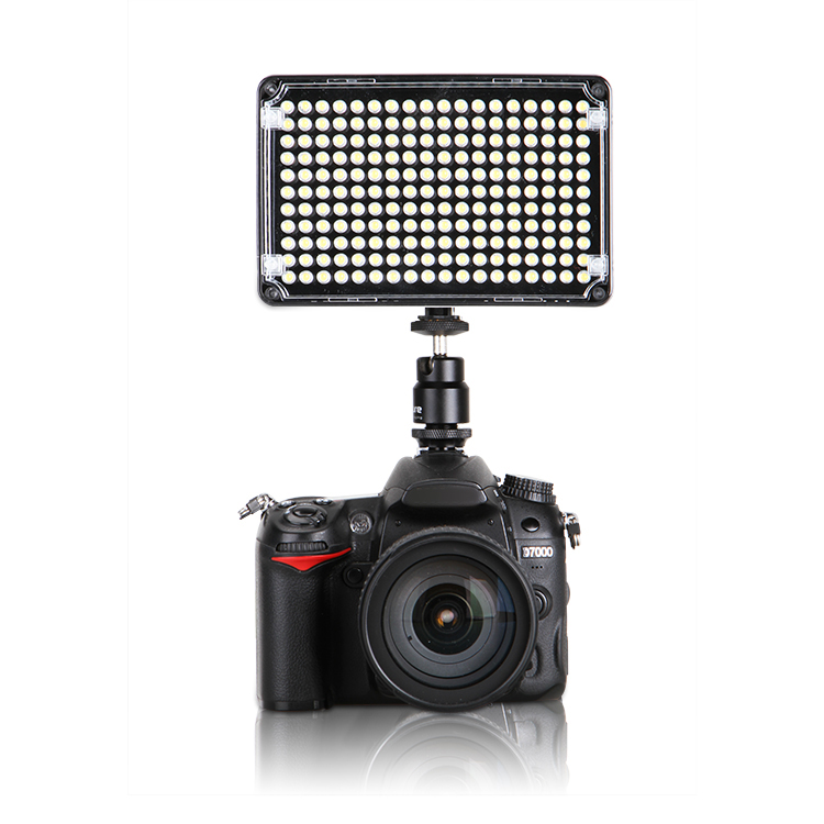 ФОТО Aputure AL-H198 Amaran CRI 95+ On Camera Daylight Temperature Light for all the DSLR