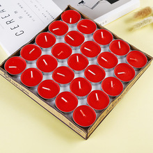 Smokeless aroma confession confession birthday ghee craft tea wax 1.5-2 hour pendulum round paraffin tea small candle the confession