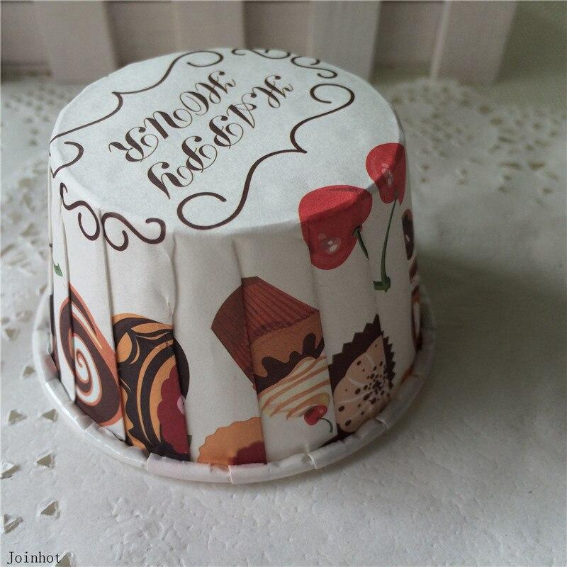 50pcs new designs <font><b>Cupcake</b></font> <font><b>Cups</b></font> Liners Baking <font><b>Cups</b></font> Kids <font><b>Birthday</b></font> Party Baby Shower Wedding