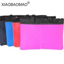 Купить онлайн XIAOBAOMAO A4 коммерческих Бизнес документ сумка папки файла подачи встречи сумки карман отделении сумки карман большой Ёмкость